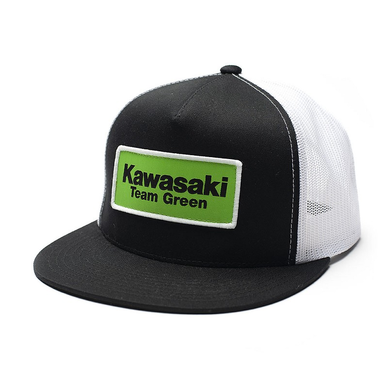 KAWASAKI TEAM GREEN snapback hat