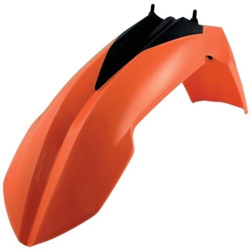 Front Fender Plastic SX125-450F 13-15 (Orange)