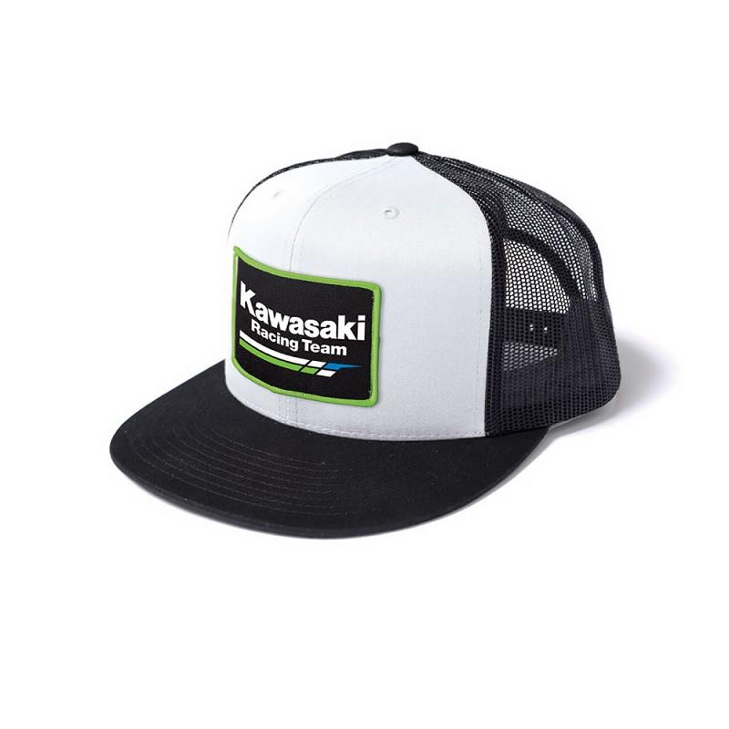Kawasaki Racing Snap-back Hat White a2794dbc8a1