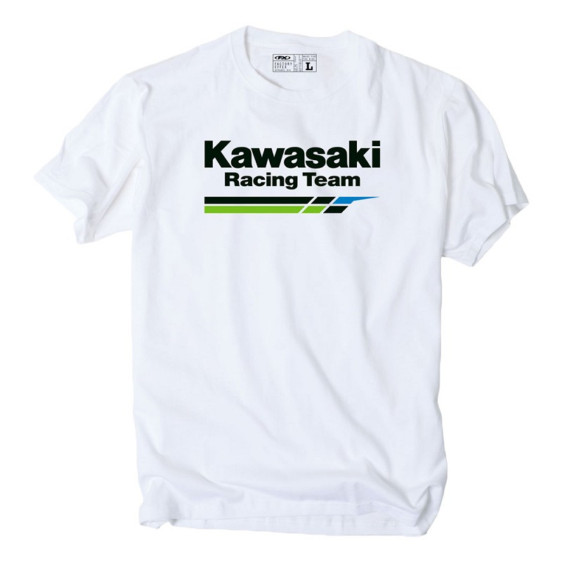 kawasaki racing t shirt. Black Bedroom Furniture Sets. Home Design Ideas