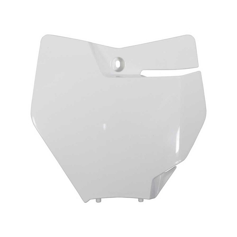 Front Number Plate Plastic KTM SX (White)