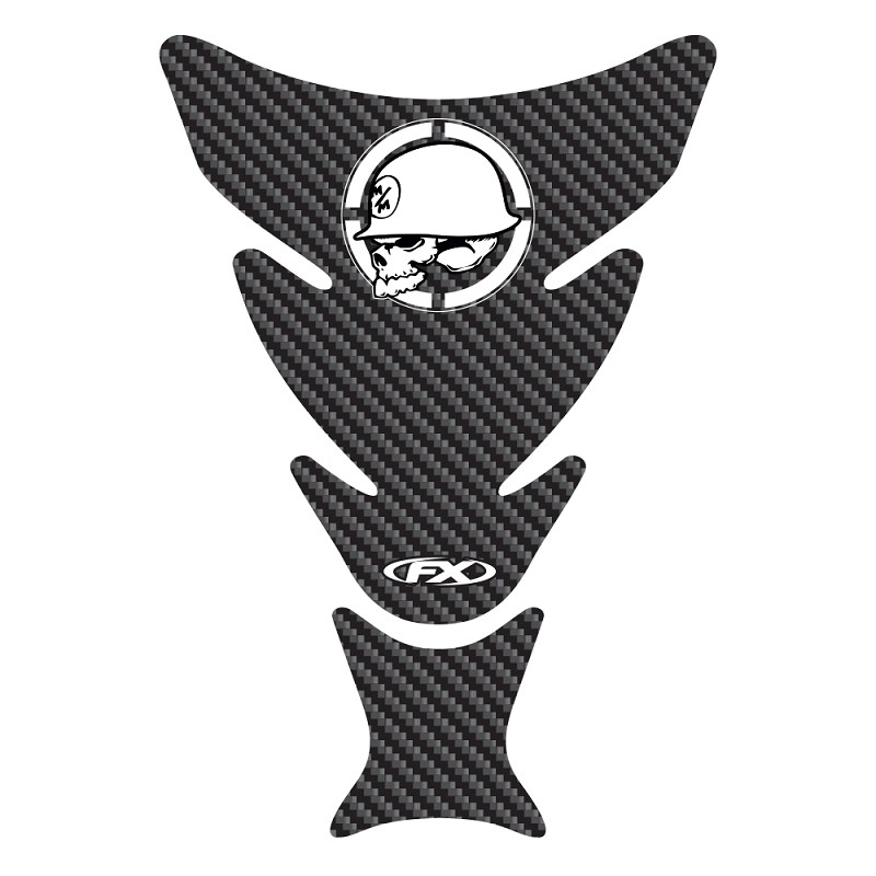 Metal Mulisha Carbon Tank Pad