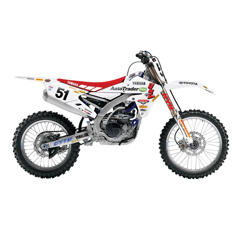 2015 JGRMX Yamaha Retro Graphics w/ Backgrounds