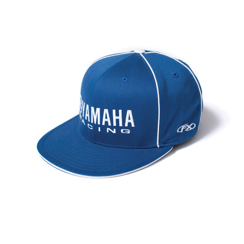 Yamaha Racing Flex Fit Hat Royal a7b367b43a8