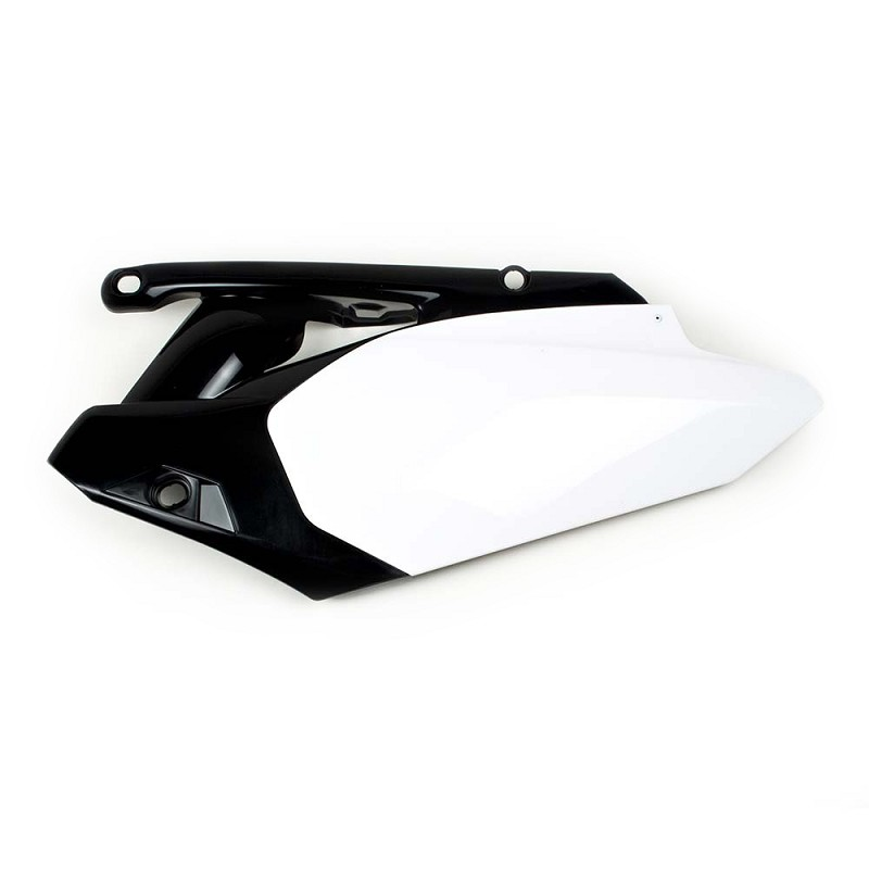 Side Plate Plastic YZ450F 10-13 (white/black)